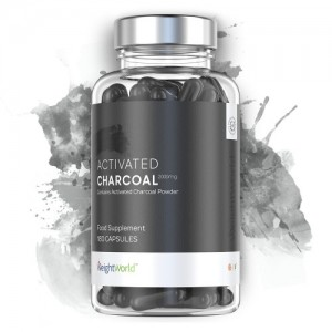 Activated Charcoal2000mg (180caps) Max Medix - Ενεργός Άνθρακας